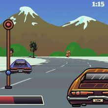 Jeu : Course de voiture - Lose the Heat