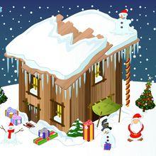 Fond d'écran : Cabane du Père Noël