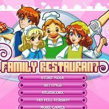 Family Restaurant (occupe-toi d'un restaurant)