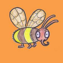 Dessiner une abeille