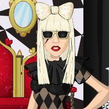 Jeu d'habillage Lady Gaga !