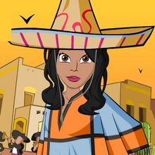 Jeu : Mexico Dress Up