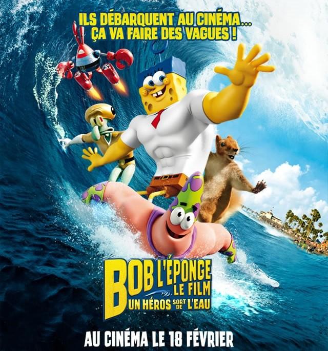 Coloriage BOB L'EPONGE - LE FILM