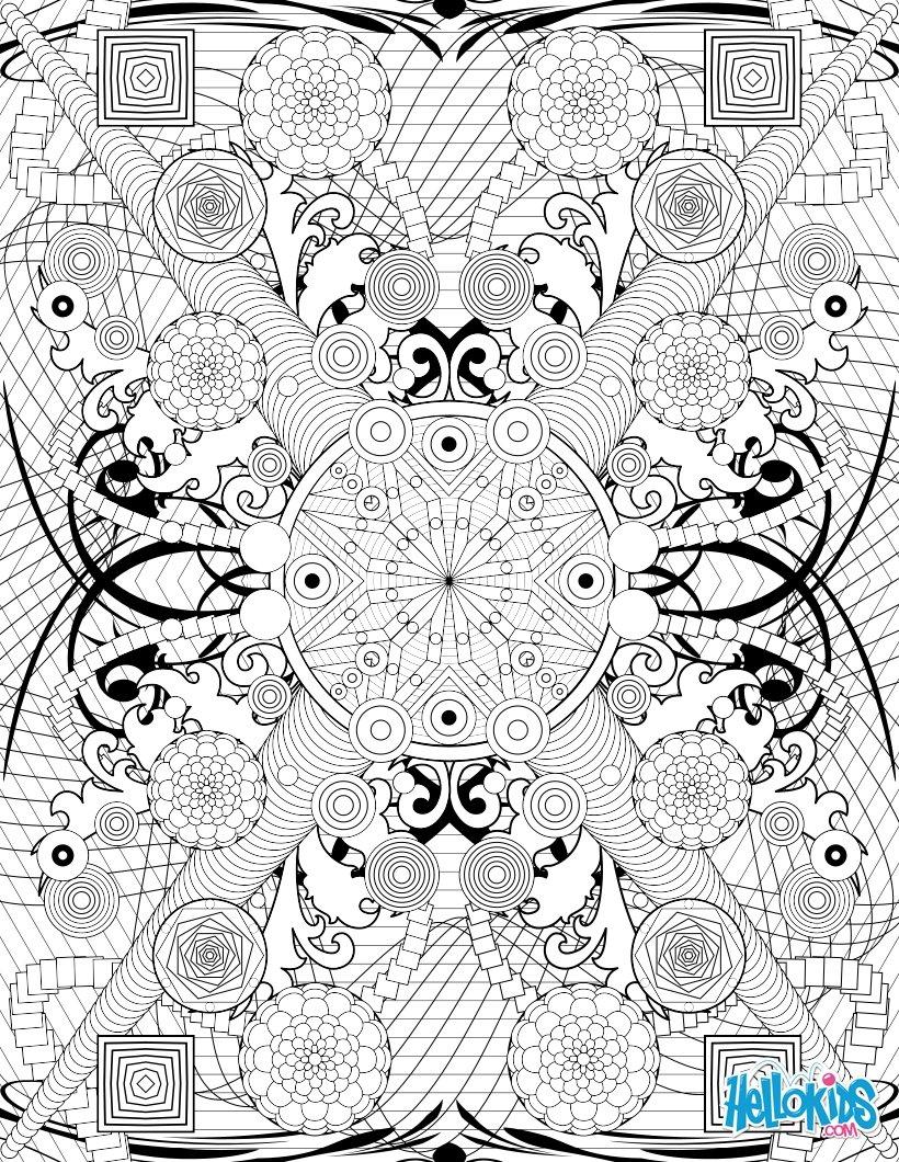 cercles et rosaces rosaces et motifs tribaux rosaces et motifs tribaux arabesques arabesques coloriage de mode pour adulte