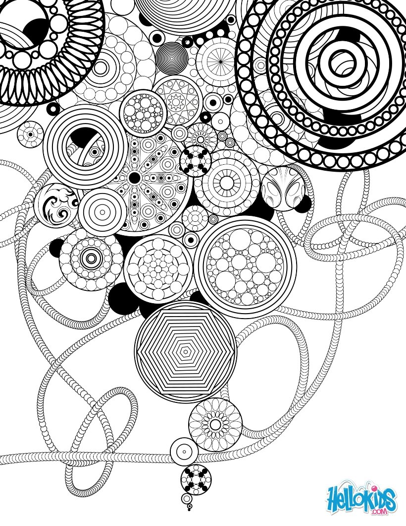 mandala motifs naturels cercles et rosaces