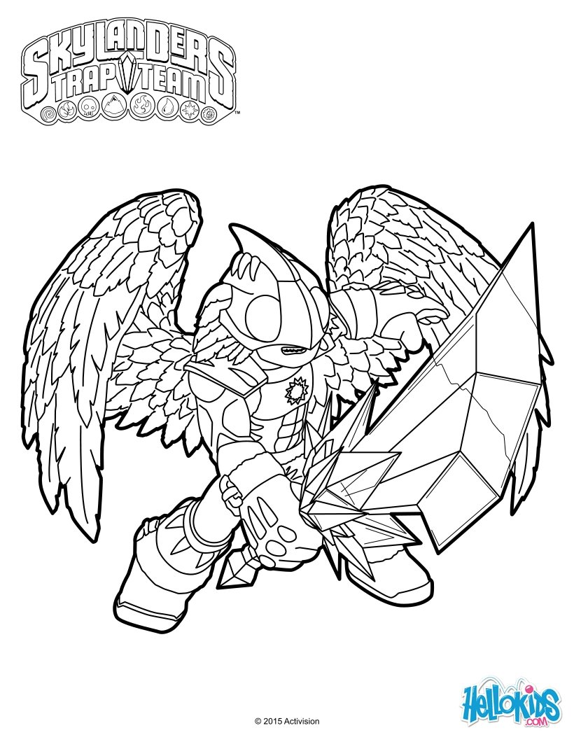 trapping coloring pages - photo#1