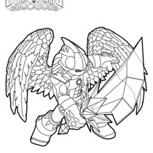 Coloriage Skylanders : Knight Light