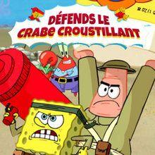 Bob l'Éponge - Défends le Crabe Croustillant