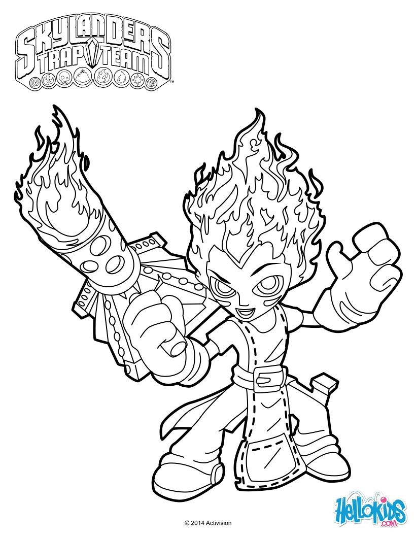 skylanders coloring pages spitfire seattle - photo#13