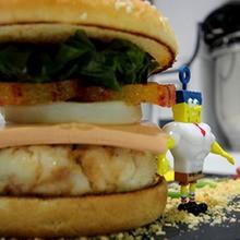Recette : Hamburger Bob l'éponge