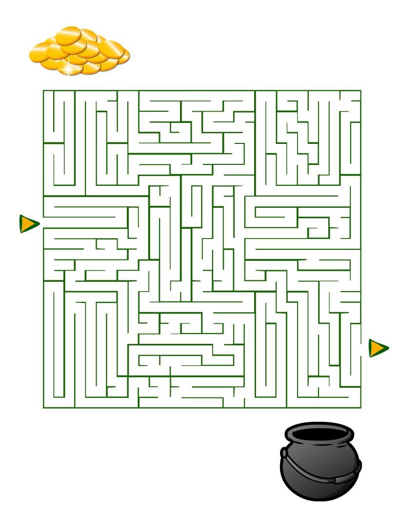 Labyrinthe : Le chaudron d'or