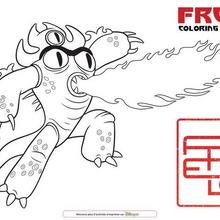 Coloriage : Fred
