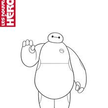 Coloriage Disney : Baymax