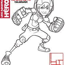 Coloriage Disney : Hiro Hamada