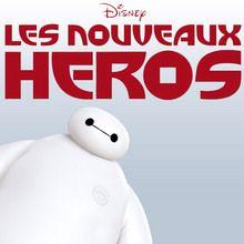 Disney, Coloriage LES NOUVEAUX HÉROS