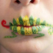 Fiche maquillage : Maquillage sur lèvres: Le Caméléon