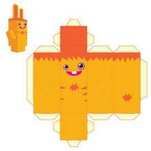 PaperToy de Pinpin (facile)