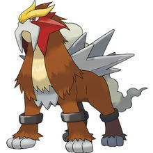 Coloriage : Entei