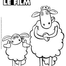 Coloriage Shaun Le Mouton Coloriages Coloriage A Imprimer