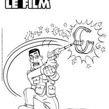 Pistolet coloriages lire et apprendre jeux en ligne gratuits dessins pour les enfants - Pistolet a colorier ...