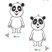 Comment réaliser des Pandas en papier PANFU