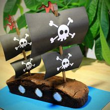 La gâteau pirate