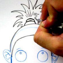 Tuto de dessin : Dessiner une coiffure : Le palmier