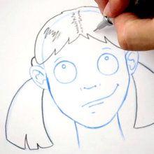 Tuto de dessin : Dessiner une coiffure : Les couettes