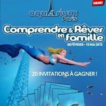 Gagnants du concours Aquarium de Paris