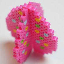 Oeuf de Pâques 3D en perles à repasser