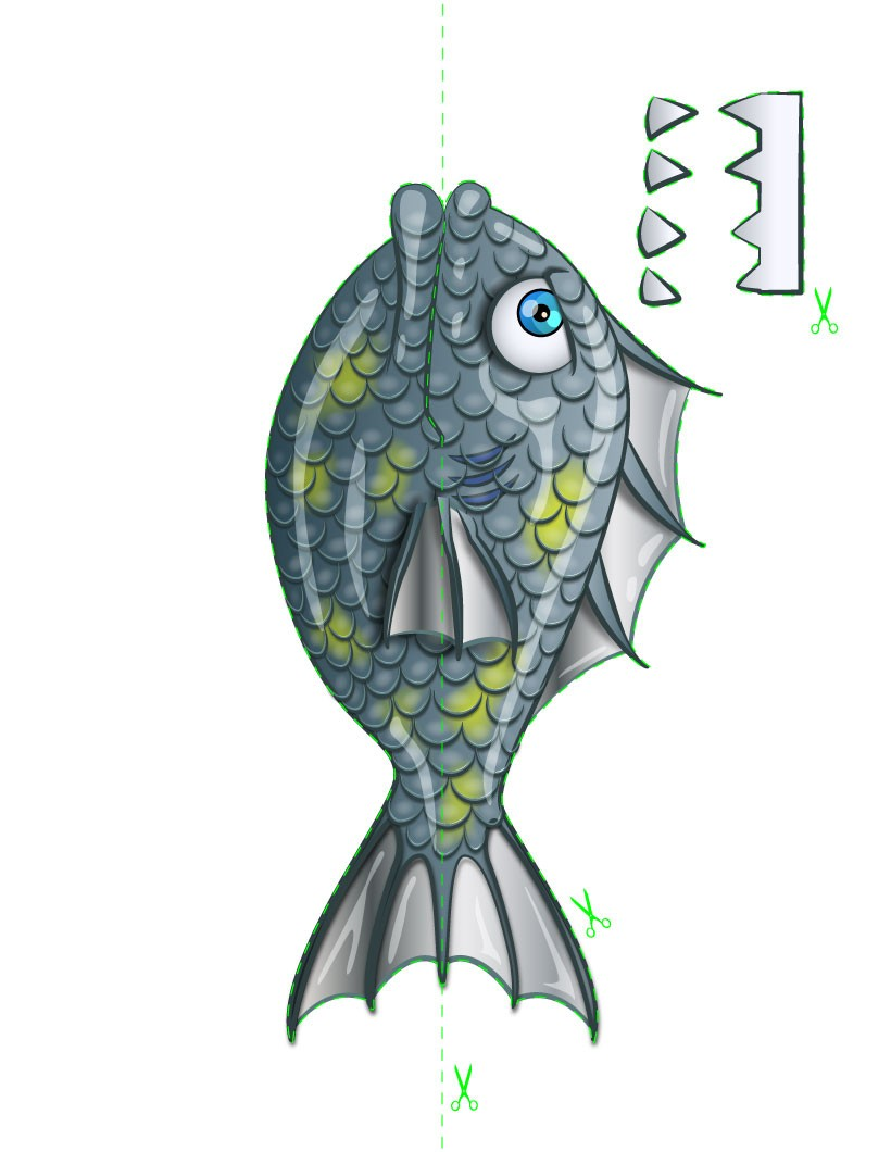 Les poissons féroces