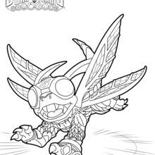Coloriage Skylanders : High Five