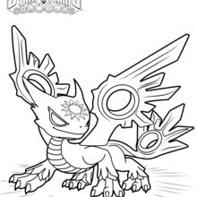 Coloriage Skylanders : Spotlight