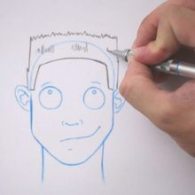 Tuto de dessin : Dessiner une coiffure : La coupe en brosse