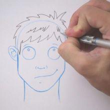 Tuto de dessin : Dessiner une coiffure : Ébouriffée