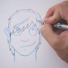 Tuto de dessin : Dessiner une coiffure : Emo
