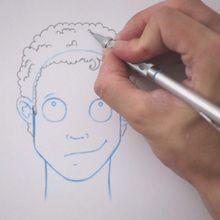 Tuto de dessin : Dessiner une coiffure : Frisé