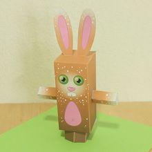 PaperToy de Pâques: Le lapin