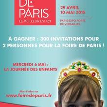 Gagnants du concours Foire de Paris