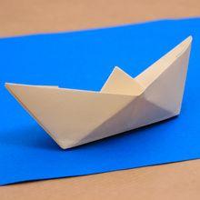Le bateau origami
