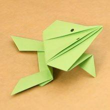 La grenouille origami