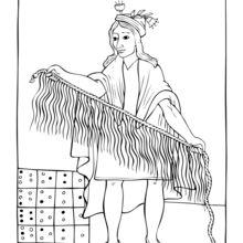 Le tissage précolombien