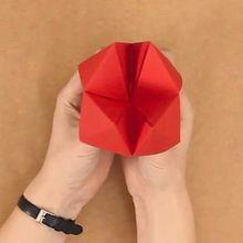 Origami : La cocotte en papier