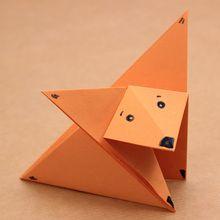 Le renard origami