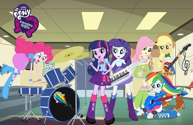 Coloriage equestria girls coloriages coloriage imprimer gratuit - My little pony en humain ...