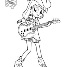 Coloriage Equestria Girls Coloriages Coloriage 224