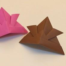 Le casque origami