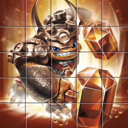 Puzzle skylanders