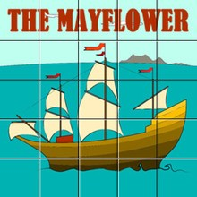 Puzzle : Le Mayflower