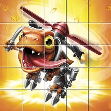 Puzzle : Chopper de Skylanders Trap Team
